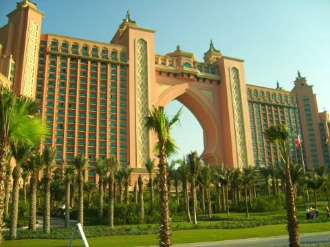 Atlantis Hotel op The Palm Jumeirah