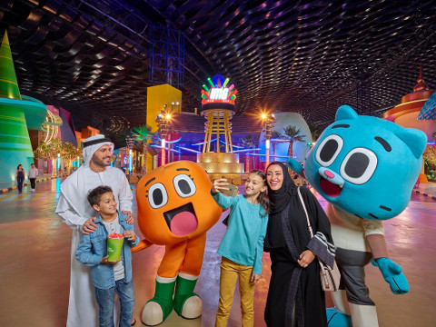 Adventure zones IMG Worlds Dubai