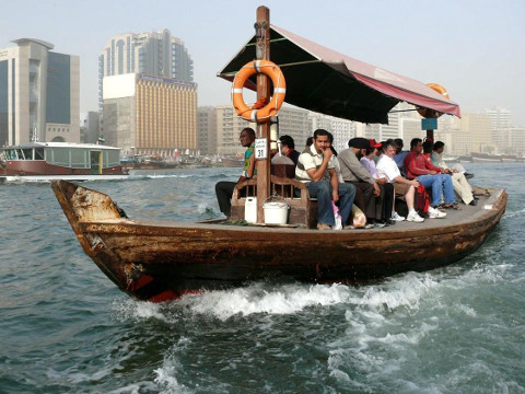 Dubai Creek watertaxi Abra