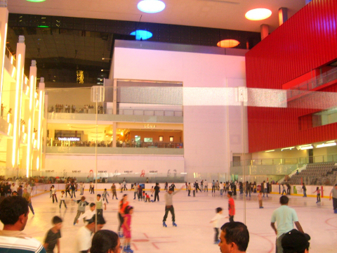 IJsbaan in Dubai – Ice Rink