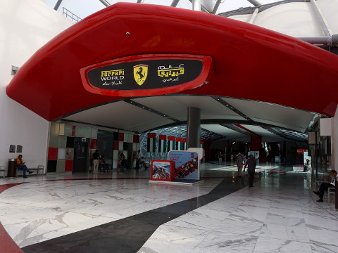 Ferrari World Abu Dhabi Tickets