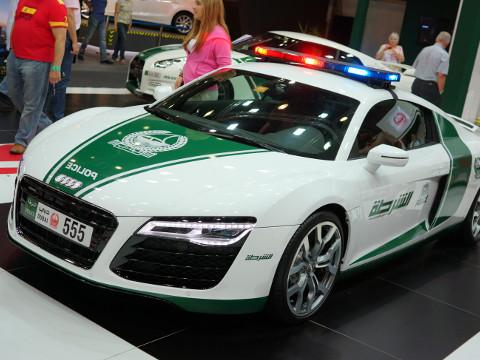 Dubai Politie - Audi R8
