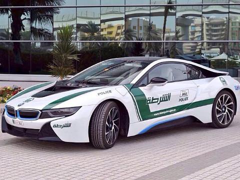 Dubai Politie - BMW i8