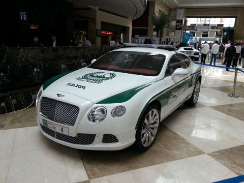 Dubai Politie - Bentley Continental GT