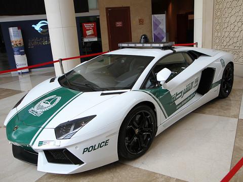 Dubai Politie - Aventador LP 700-4