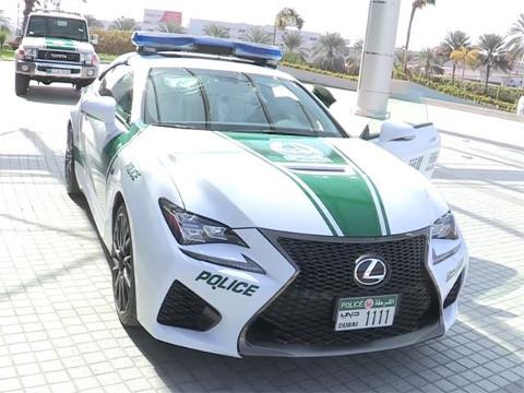 Dubai Politie - Lexus RC F