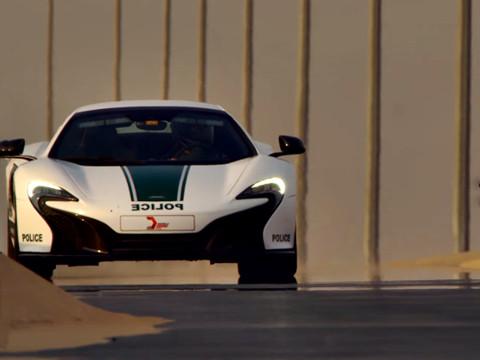 Dubai Politie - McLaren 650S