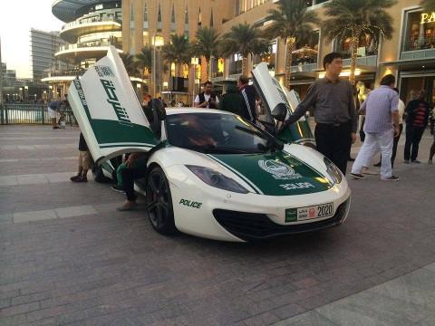 Dubai Politie - McLaren MP4-12C