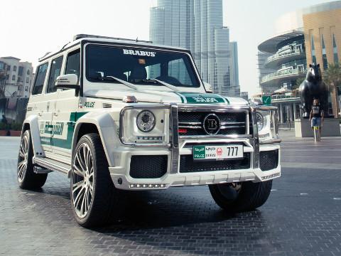Dubai Politie - Brabus G63 AMG