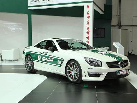 Dubai Politie - Mercedes-Benz SL63 AMG