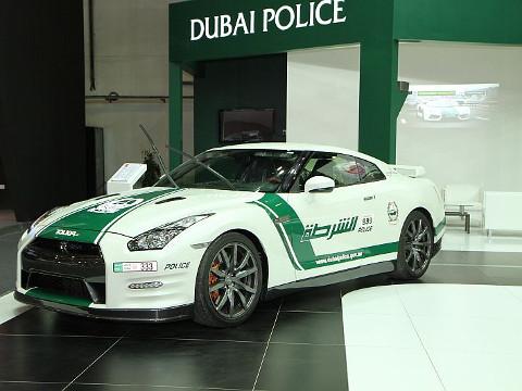 Dubai Politie - Nissan GT-R