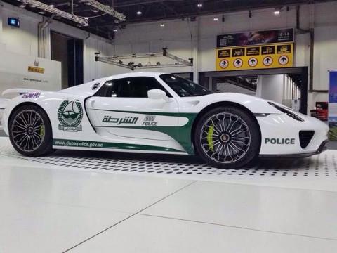 Dubai Politie - Porsche 918 Spyder