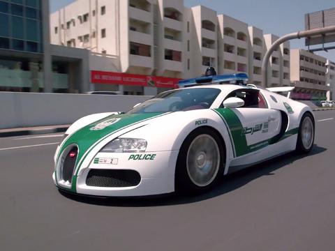 Dubai Politie - Bugatti Veyron