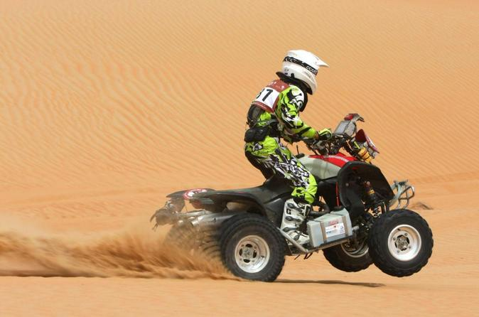 4x4 Self-Drive Quad Bike Safari From Dubai