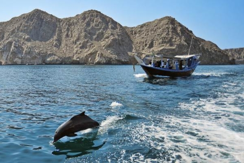 Musandam Khasab: boottocht van een dag met vervoer en lunch