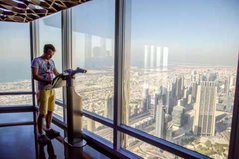 Dubai Burj Khalifa tour & tickets: verdieping 124, 125 & 148