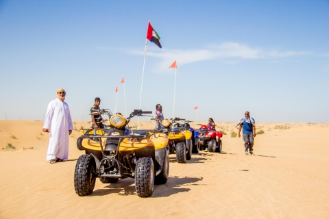 Dubai: woestijnsafari op quad (ATV) in de ochtend