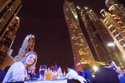 Dhow-dinercruise in de jachthaven van Dubai