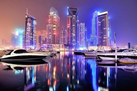 Dubai by Night City Tour met fonteinshow