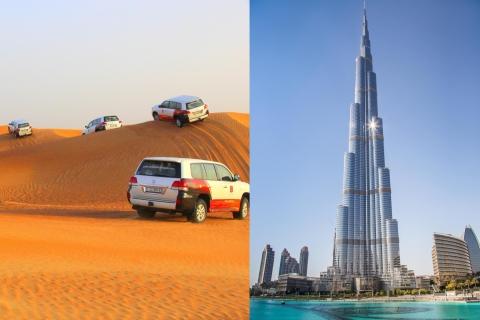 Dubai: woestijnsafari en toegangsticket Burj Khalifa