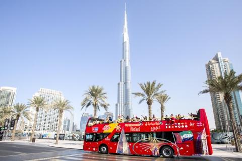 Dubai: hop-on hop-off bustour - 24 of 48 uur