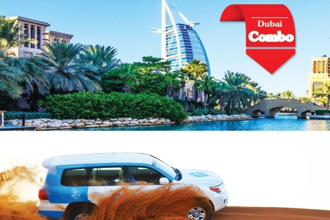 Dubai: stadstour en woestijnsafari in de avond