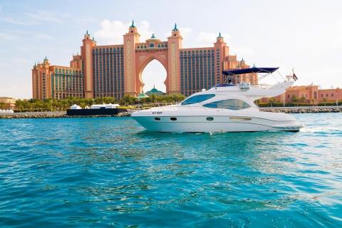 Dubai: 3 uur op luxe jacht en zie Atlantis & Burj al Arab