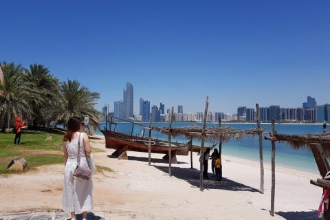 Van Dubai: stadstour Abu Dhabi
