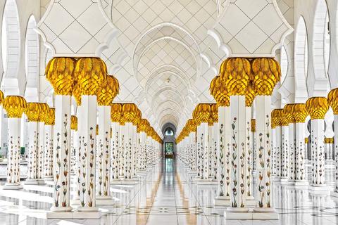 Vanuit Dubai: dagtour Abu Dhabi met Louvre & Moskee