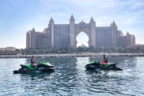 Palm Jumeirah: begeleide jetskitour van 1,5 uur