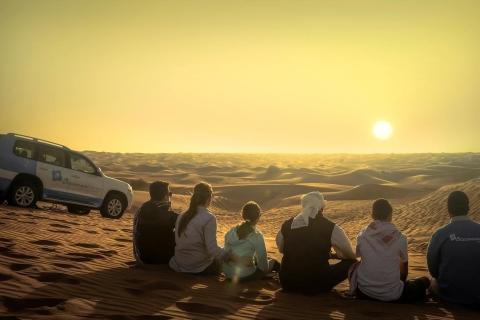 Dubai: Saharaduinen & kamelenkaravaan met BBQ bij Al Khayma