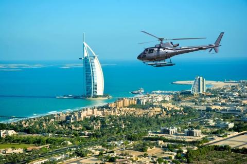 Dubai: 12-minuten durende helikoptertour