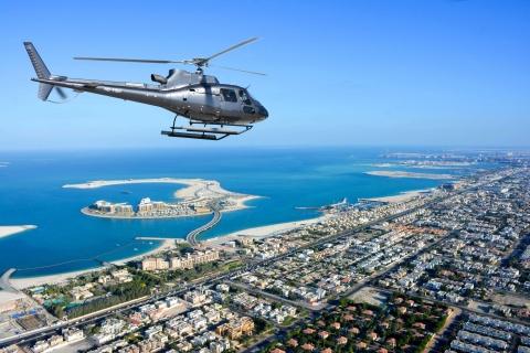 Dubai: 22-minuten durende helikoptervlucht