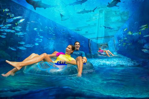 Dubai: ticket Atlantis Aquaventure & Lost Chambers Aquarium
