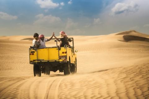 Erfgoedwoestijnsafari met diner vanuit Dubai