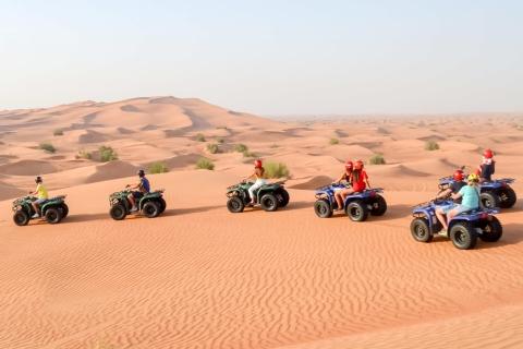 Dubai: avontuurlijke quadsafari, kamelenrit en sandboarding
