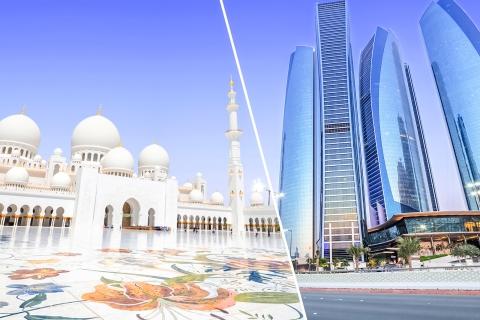 Vanuit Dubai: Abu Dhabi-tour & Emirates Palace