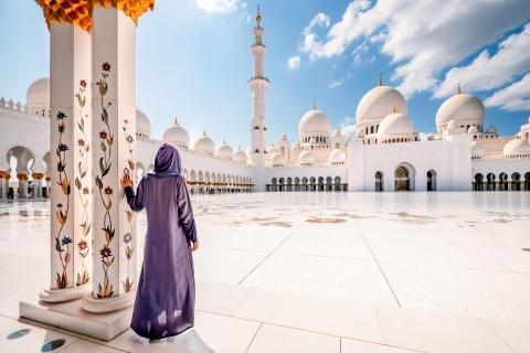 Vanuit Dubai: Abu Dhabi sightseeingtour van een dag