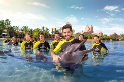 Dubai: dolfijnen zwemmen en ontdekken bij Atlantis