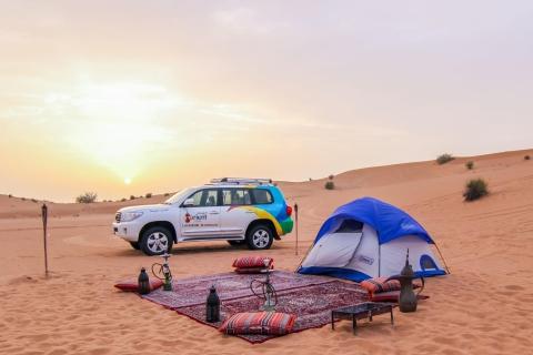 Overnachting Dubai Desert Safari met BBQ-diner