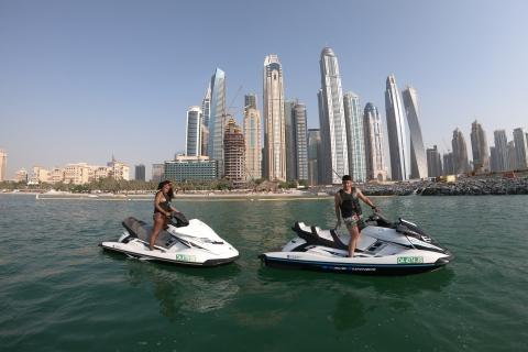 Dubai: Mina Seyahi 1 uur jetski-verhuur