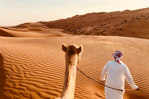 Dubai: premium duin- en kameelsafari & barbecue in Al Khayma