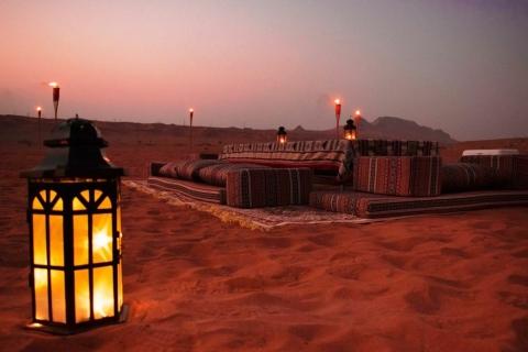 Mleiha-woestijnsafari met sandboarden, sterrenkijken en diner