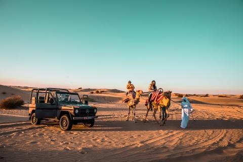 Dubai: Vintage Car Desert Trip & Bedoeïenendorp