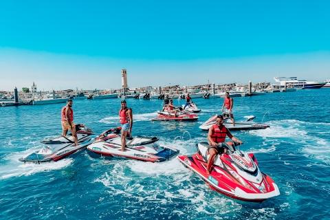 Dubai: jetski-tour, inclusief Burj Khalifa en Dubai Marina