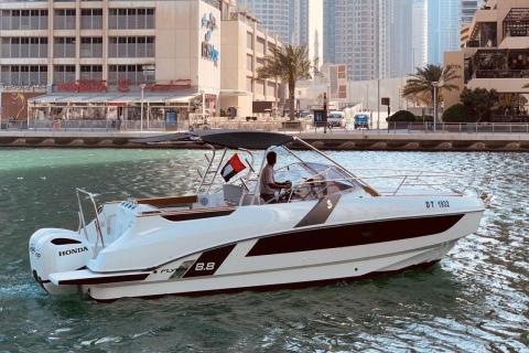 Dubai: boottocht op zee: zon, zee & sightseeing