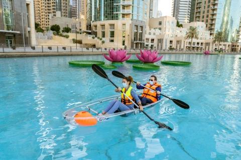 Dubai: boot-, water- en kajakactiviteiten op het Burj-meer