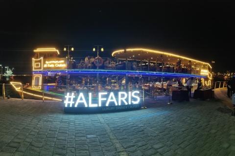 Dubai: luxe rondvaart met diner en optioneel vervoer