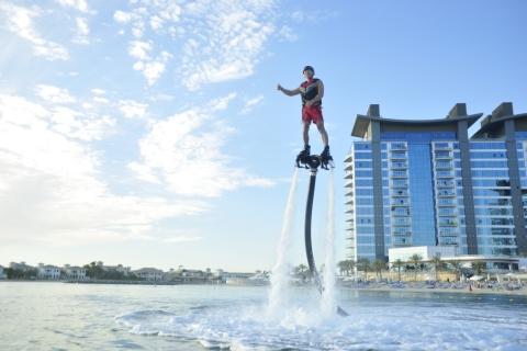 Dubai: half uur flyboarden voor beginners bij Palm Jumeirah