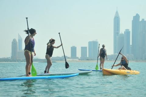 Dubai: 1 uur kajakken of SUP bij Dukes The Palm